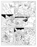 Lego Marvel Avengers Coloring Sheet