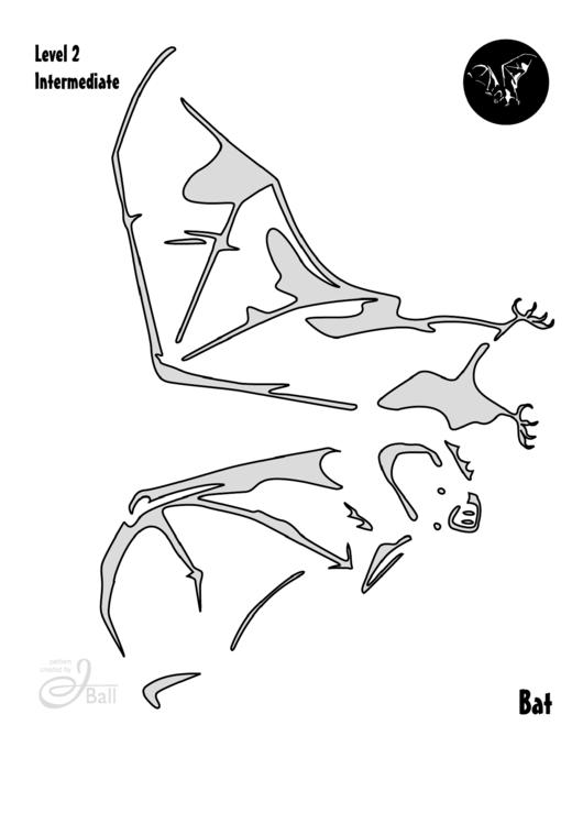 Bat Pumpkin Carving Template