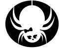 Cute Spider-fly Stencil Template