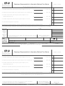 Form Ct-2 - Employee Representative's Quarterly Railroad Tax Return