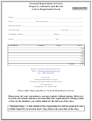 Vermont Department Of Taxes Property Valuation And Review Course Registration Form