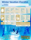 Winter Vacation Checklist