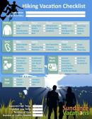 Hiking Vacation Checklist