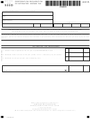 Fillable Form Sc1120-Cdp - Corporation Declaration Of