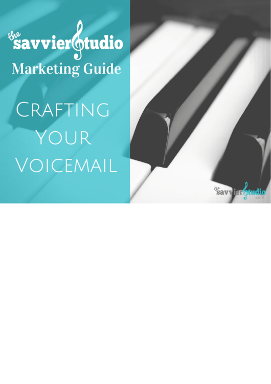 Crafting Your Voicemail Marketing Template