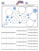 Letter S Tracing Template
