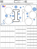 Letter I Tracing Template