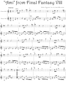Nobuo Uematsu - Ami From Final Fantasy Viii Video Game Sheet Music