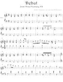 Nobuo Uematsu - Debut From Final Fantasy Vii Video Game Sheet Music