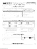 Form 4f1-18058-f - Retail Prescription Drug Claim Form (soanish)