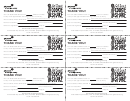 Cookie Share Receipts (black And White) - Girl Scouts Of Orange County