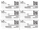 Troop's Own Cookie Share Receipts (black And White)