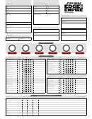Edge Of The Empire Character Sheet