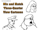 Mix And Match Three-quarter View Cartoons Cheat Sheet