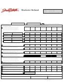 Form 573 - South Dakota Marketer Refund