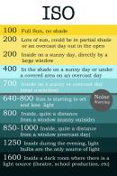 Iso Light Chart
