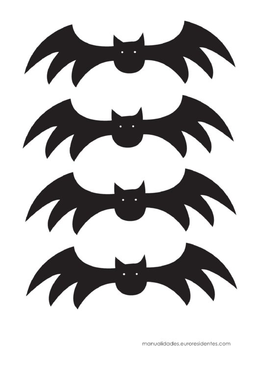 top halloween bat templates free to download in pdf format