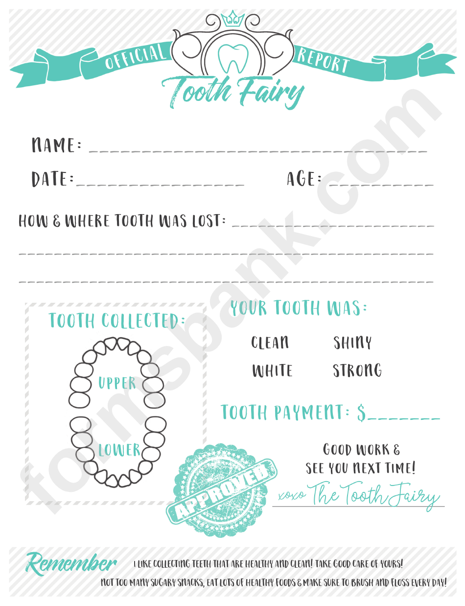 Tooth fairy letter template printable pdf download tooth fairy letter template maxwellsz