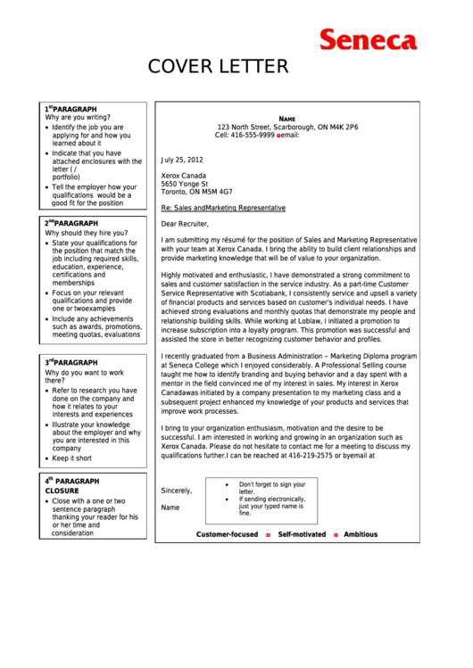Cover Letter Examples Printable pdf