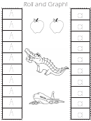Roll And Graph! Kids Activity Sheets