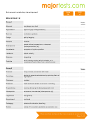 Vocabulary For Standardized Tests Word List 12 Template