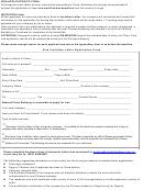 Visa Application Form To China