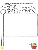 Make Up A Country And Draw Its Flag Activity Sheet
