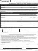 Highmark Patient Request For Medical Records Transfer Form
