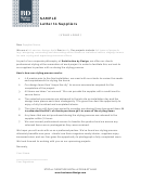 Partnership Letter Template