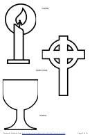 Rare image intended for chrismons patterns printable