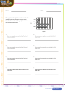 Graph And Data Worksheet With Answer Key