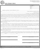 Public Adjuster's Bond Form - Illinois Department Of Insurance