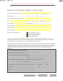 Form 2085 - South Dakota Request For Consideration Of Indian Use Only Projects