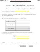 Form 2145 - South Dakota Yankton Sioux Tribe Monthly Other Tobacco Product Sales Report