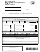 Form Wv/mfr-14 - West Virginia Motor Fuel Tax Refund Application Wv/mfr-14