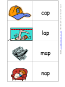 The Ap Word Family Flash Card Template