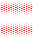 Red Dots On White Paper Template