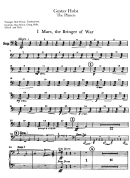 The Planets By Gustav Holst Sheet Music