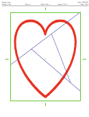 Heart Quilting Pattern Template