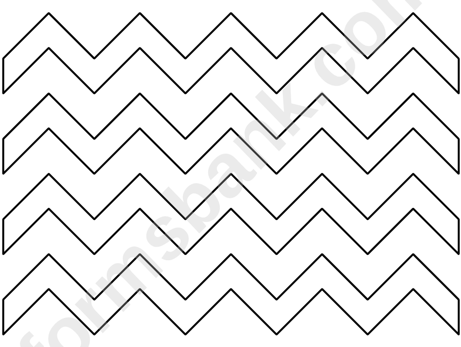 Zig-Zag Pattern Template