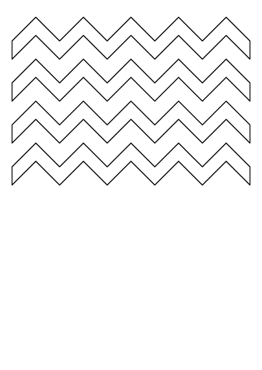 Zig-Zag Pattern Template Printable pdf