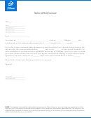 Notice Of Rent Increase Letter Template
