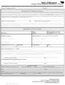 Change Of Officer Resignation/appointment-chairman Form