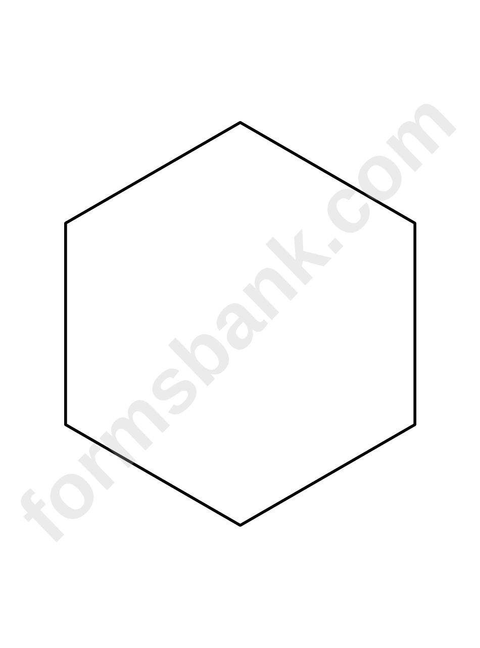 picture relating to Printable Hexagon Template called Leer en línea 6 Inch Hexagon Routine Template Printable Pdf