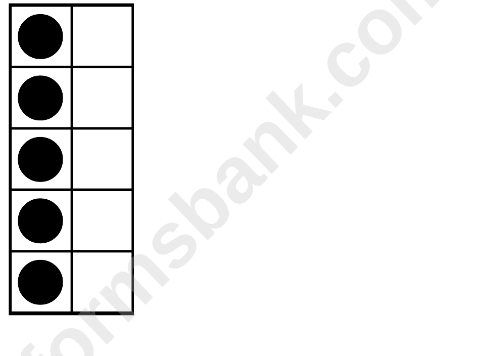 Ten Frame Flash Cards Template