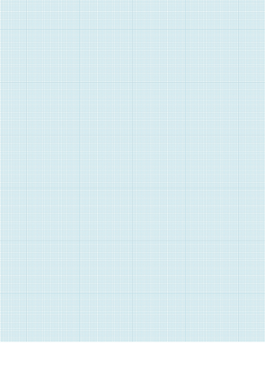 Light Blue Graph Paper Template Printable pdf