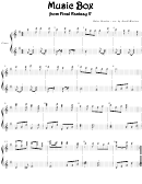 Nobuo Uematsu - Music Box From Final Fantasy V Video Game Sheet Music
