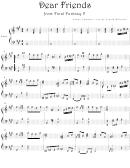 Nobuo Uematsu - Dear Friends From Final Fantasy V Video Game Sheet Music