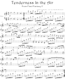 Nobuo Uematsu - Tenderness In The Air From Final Fantasy V Video Game Sheet Music