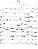 Nobuo Uematsu - Gau From Final Fantasy Vi Video Game Sheet Music